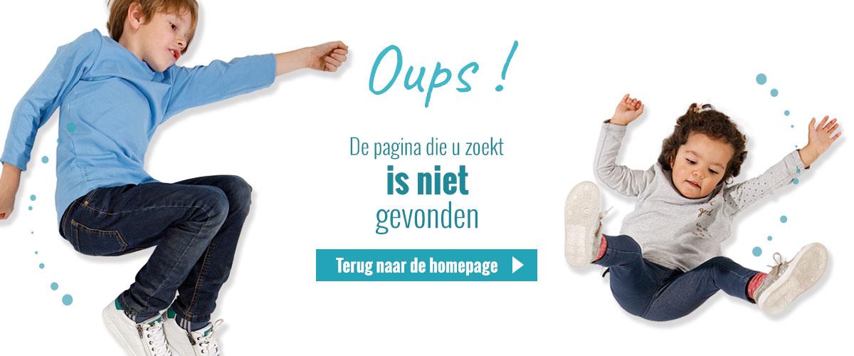 Error 404 - Pagina niet gevonden